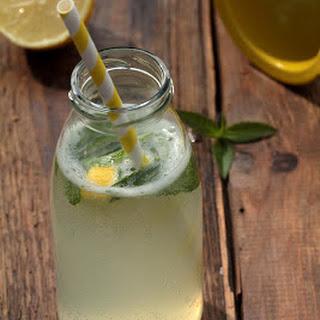 Refreshing Lemon Verbena Lemonade.