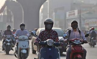 Ô nhiễm không khí là vấn đề nóng rực ở Thủ đô những ngày qua.