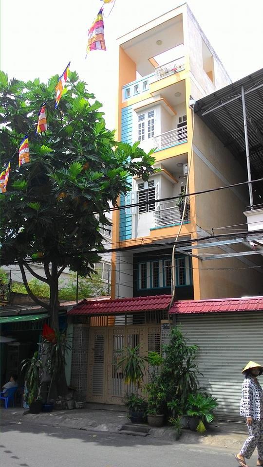 Nhà phố Chính Chủ 4 lầu Mặt Tiền Lê Cao Lãng Tân Phú 01