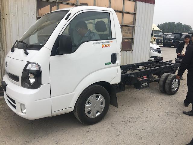 Ngoại thất xe tải Kia K200