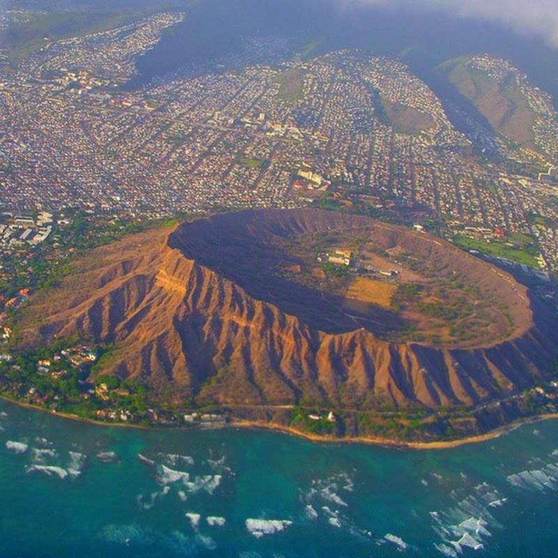 Diamond Head Volcanic Crater, Hawaii