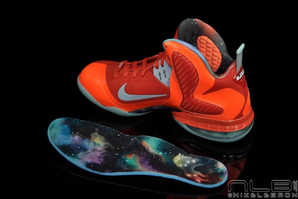 super popular 90908 df89e ... The Showcase Nike LeBron 9 8220Galaxy AllStar Big Bang8221 ...
