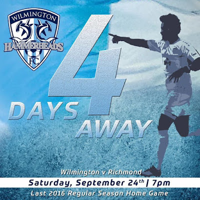 The countdown continues 4 days until the last match of the 2016