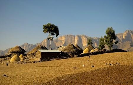 Trekking Muntii Simien - Etiopia: In drum spre Mekarabya
