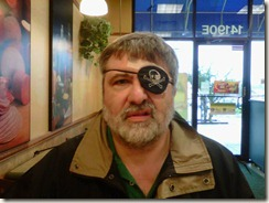 Dana with Eye Patch