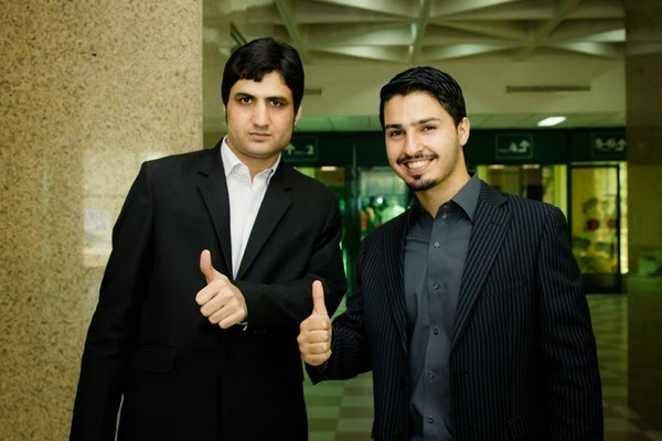 With Wali Khan