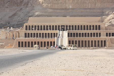 Obiective turistice Luxor: templul Hatshepsut