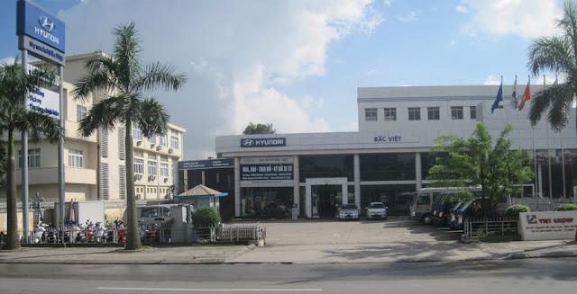 Đại lý xe tải Hyundai Bắc Việt