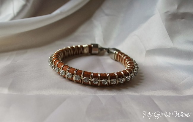 Rhinestone Bangle Bracelet