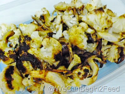 Roasted Cauliflower and Onions 5