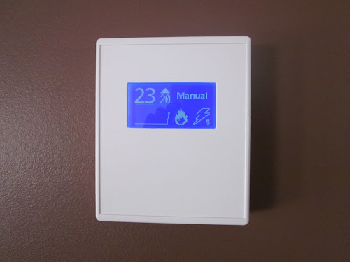Home Heat Thermostat - 7day prog , IR control, Graphic LCD