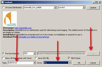 How to create Clonezilla Live USB using Tuxboot - Ubuntu Tutorial