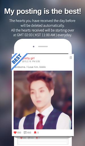Kpop Star u2665 - Idol ranking 5.9.6 screenshots 3