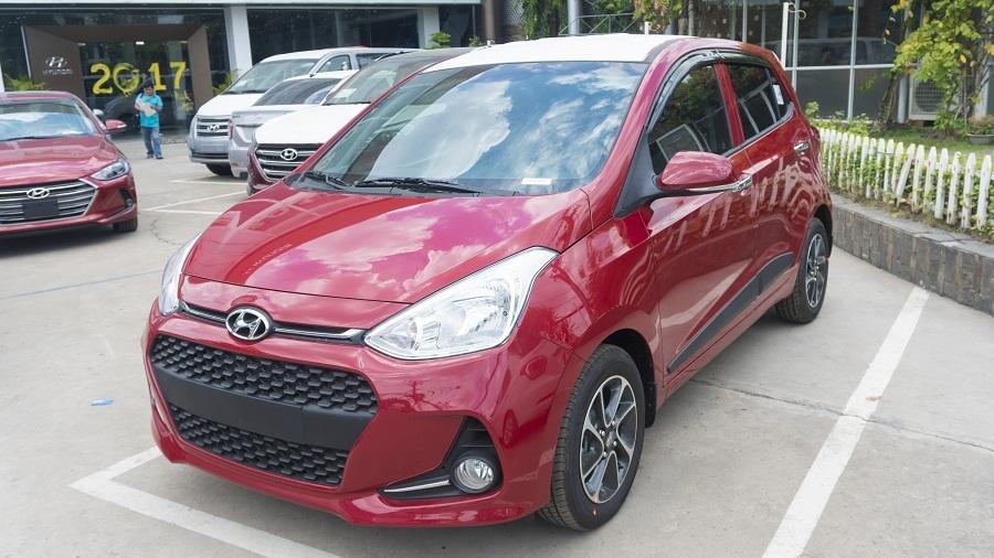 Hyundai Grand i10 2017 màu đỏ 01