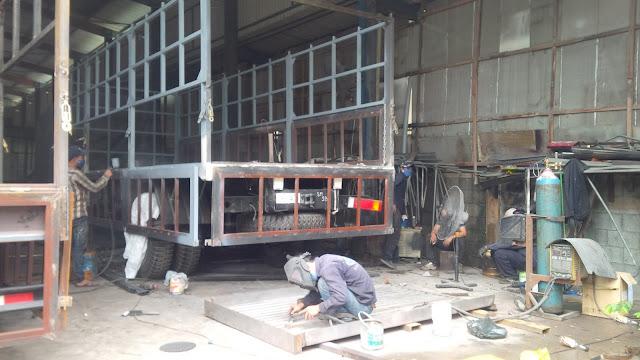 Sửa chữa, đóng thùng xe tải tại Yên Mỹ Hưng Yên