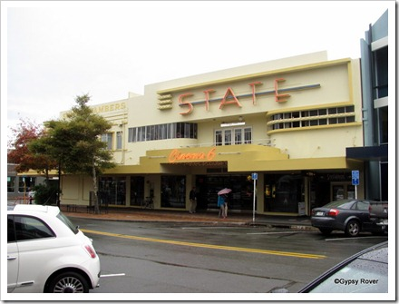 Art Deco State cinema building Nelson.