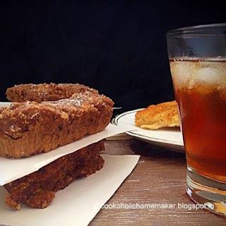 Apple Oatmeal Bars with Orange Spiced Tea Recipe