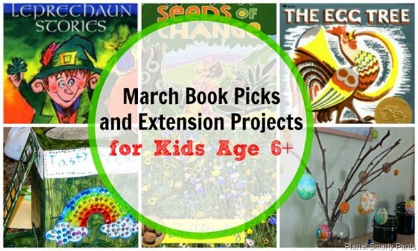 March Book Picks for Kids Age 6 and Up