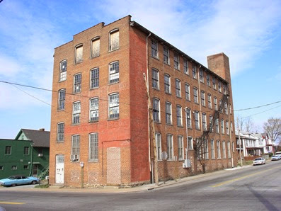 C. B. Cones & Son Manufacturing building in Lynchburg, VA.