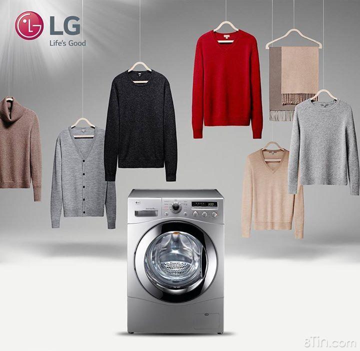 Bạn thường phải tự tay giặt áo len vì sợ giặt máy