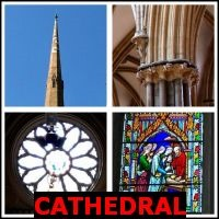 CATHEDRAL- Whats The Word Answers