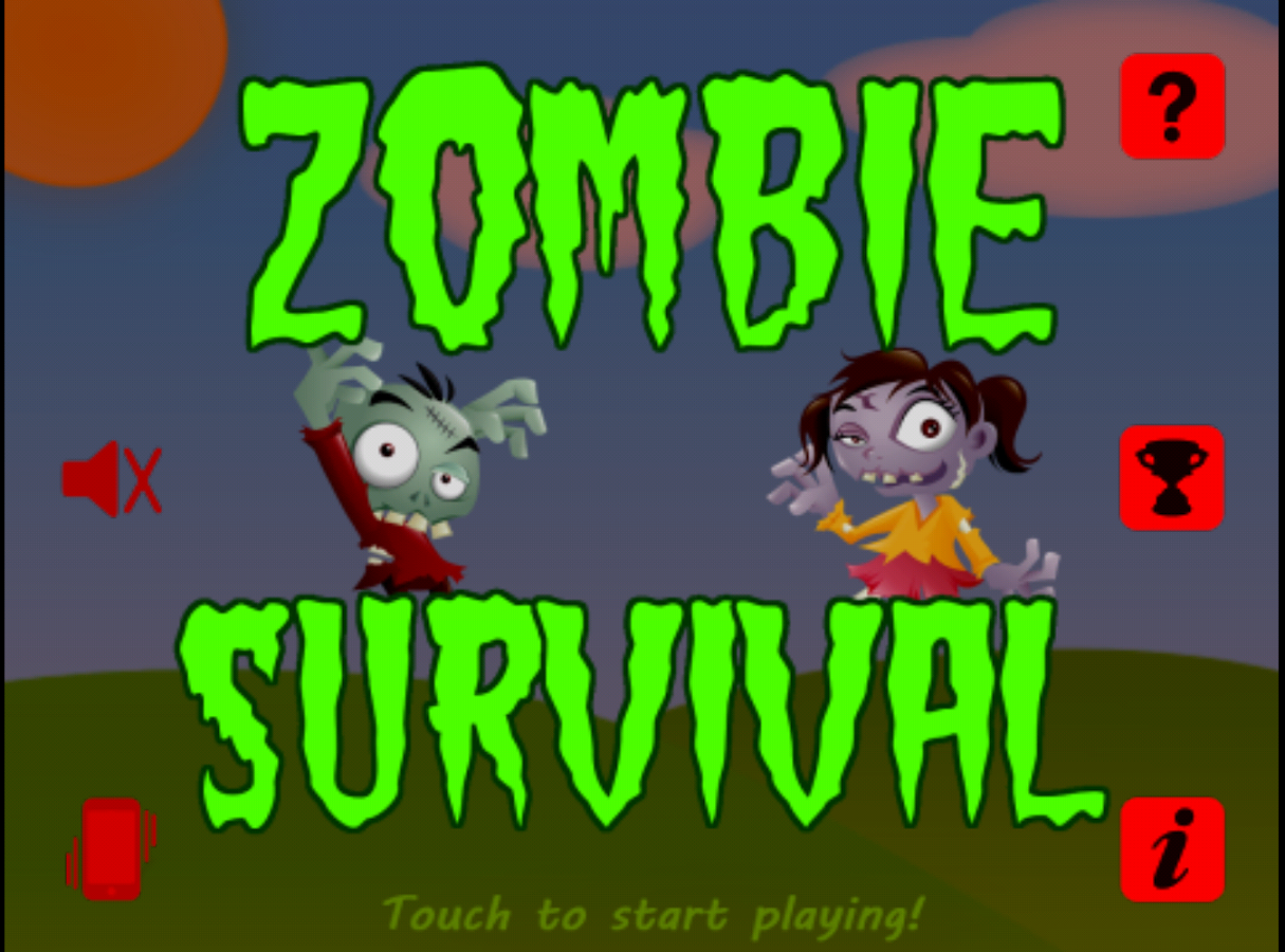 Zombie Game- screenshot