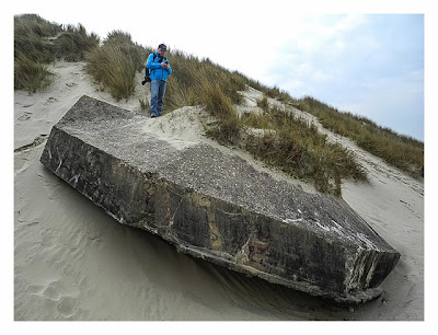 Atlantikwall - Stp Adolf - Offene Bettung für 5cm KwK