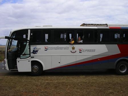 Transport Tanzania: autobuz Scandinavia spre Dar