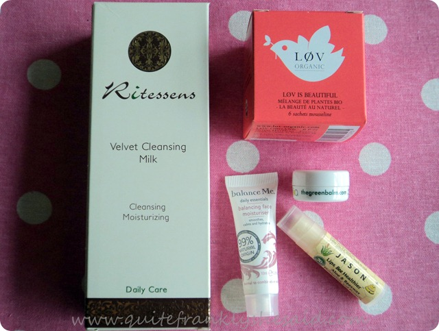 October Joliebox Beauty Box contents
