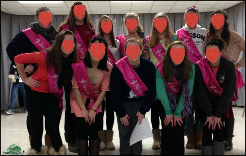 Sweetheart Senior Sashes