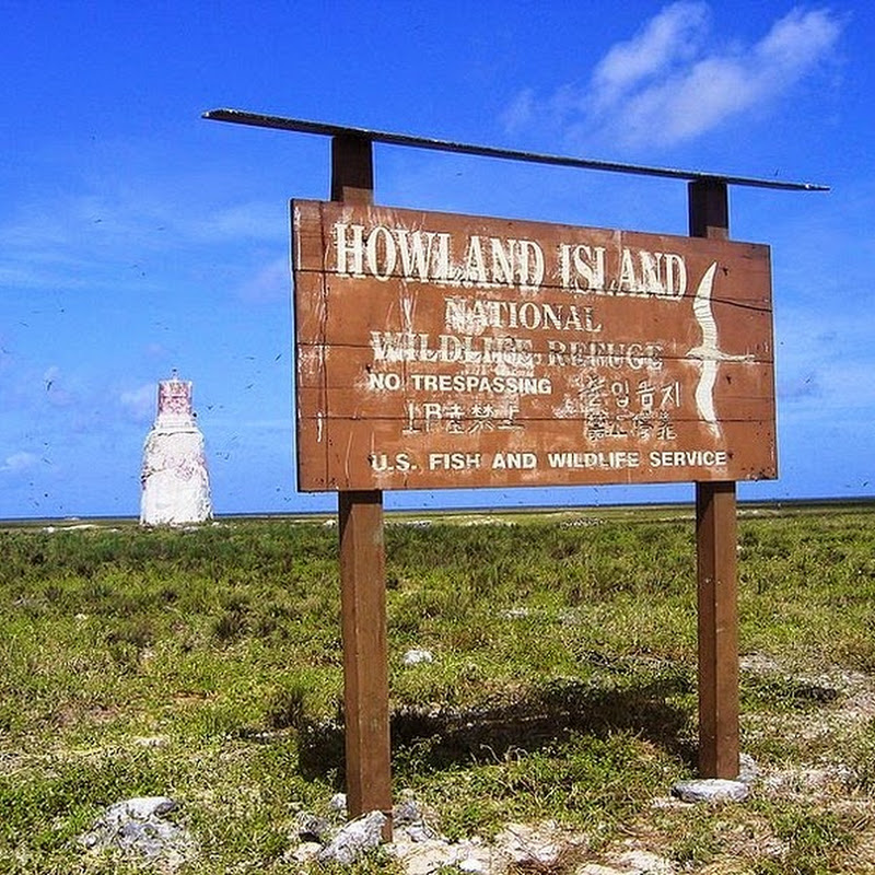 Amelia Earhart's Lighthouse on Howland Island