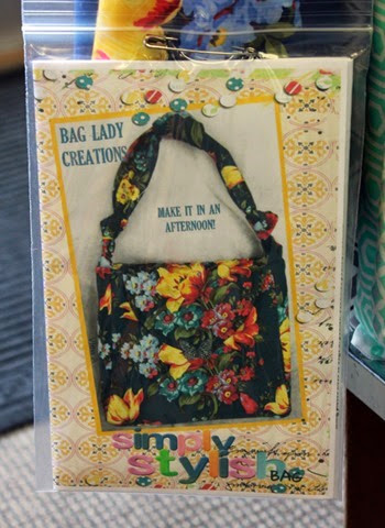 Simply Stylish bag pattern by Carol Lawson