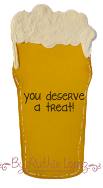 Beer Glass Card Platypus Creek Digitals