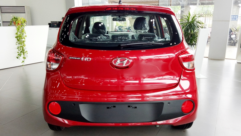 Xe Hyundai Grand i10 Hatchback 5 Cửa màu đỏ thế hệ mới 04