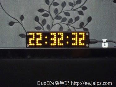 GPS時鐘LED