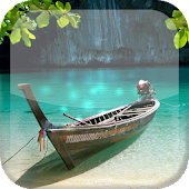 Natural Lake S5 Live Wallpaper