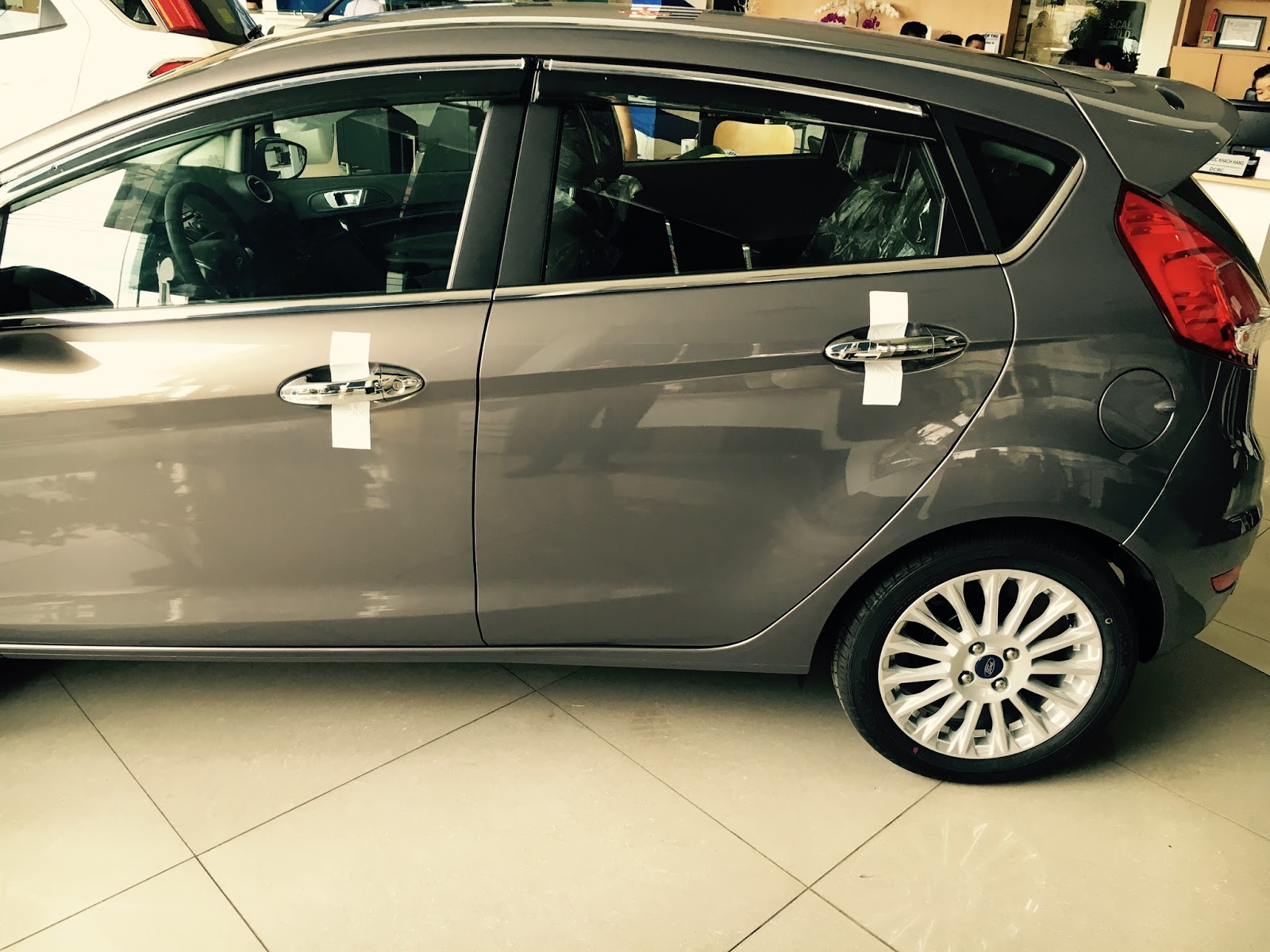 Xe Ford Fiesta All New Model 06