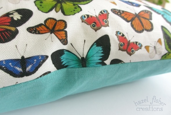 2014 November 10 butterfly cushion cover spoonflower fabric hazel fisher creations 3