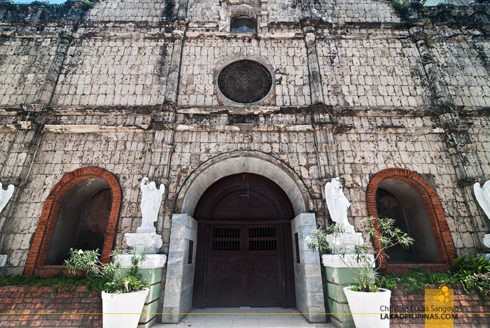 Cebu's Danao Church Entrance Facade
