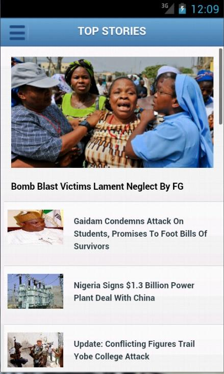 ChannelsTV Mobile for Androids- screenshot