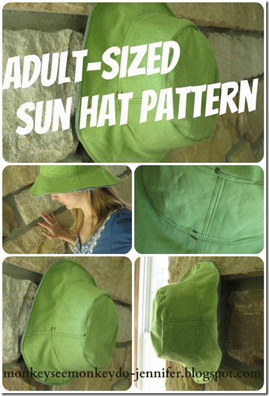 hat collage for resized adult pattern 3ac2bf1544a