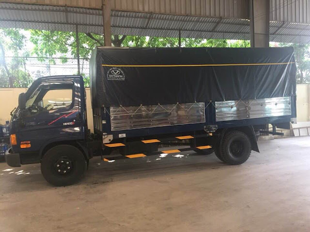 Ô tô tải Dothanh HD120s Mighty 8 tấn thùng bạt