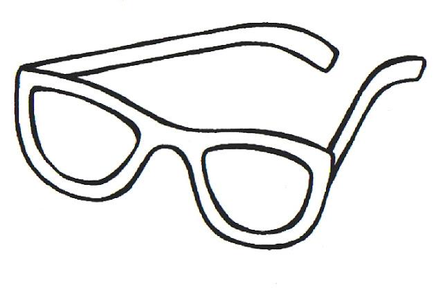 Dibujos De Gafas Para Colorear