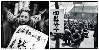 Một hình ảnh trong bộ hình 20.000 bức, về cách mạng văn hoá, mà nhiếp ảnh gia Lý Chấn Thịnh đã đánh liều mạng sống để giữ lại được cho đến ngày nay.