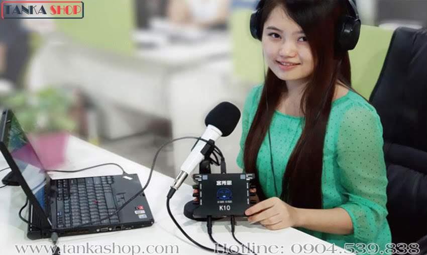 Sound card hát online XOX