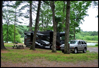 15 - Site 20, Wilderness Lake CG, Willington, CT
