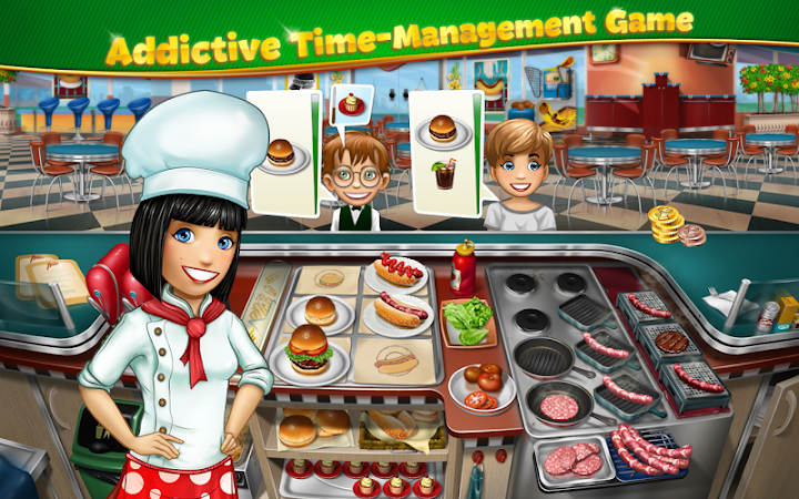 Cooking Fever v2.4.1 [Unlimited Coins/Gems]