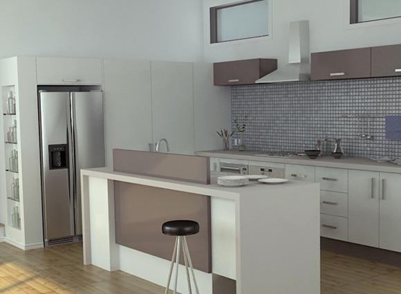 20 Modelos De Cocinas Con Bar Multifuncionales Idecorar