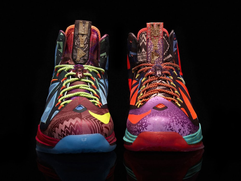 3392ff11bb1f Nike Celebrates James8217 4th MVP with the LeBron X 8220What the MVP8221 ...