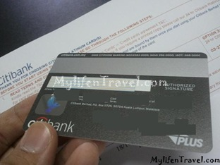 Citibank Platinum Credit Card 13